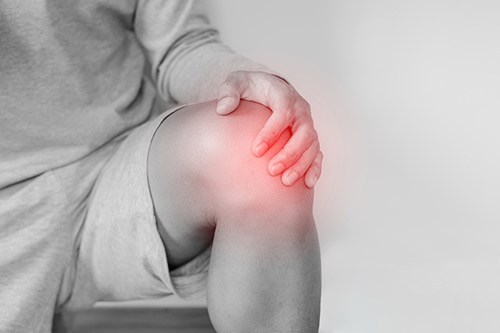 Getting cortisone or steroid injections for joint pain relief.